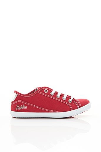 Baskets rouge REDSKINS pour garçon