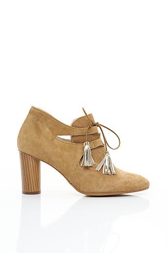 Bottines/Boots beige FRANCE MODE pour femme