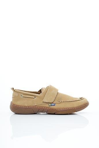 Chaussures bâteau beige ZODIAC pour homme