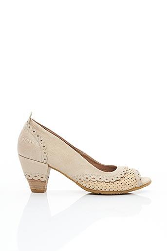 Escarpins beige DKODE pour femme