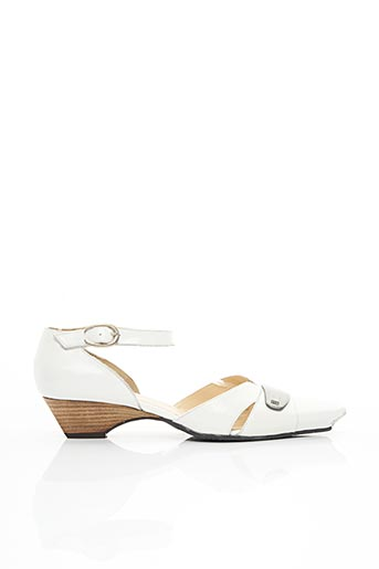 Sandales/Nu pieds blanc FRANCE MODE pour femme