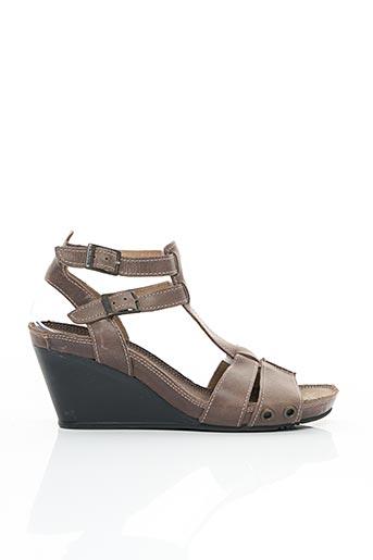 Sandales/Nu pieds marron PALLADIUM pour femme