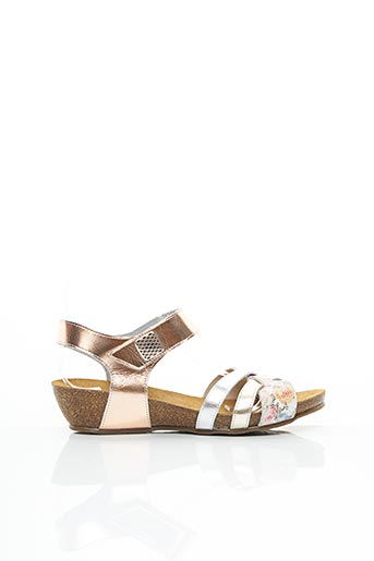 Sandales/Nu pieds rose ARTIKA SOFT pour femme
