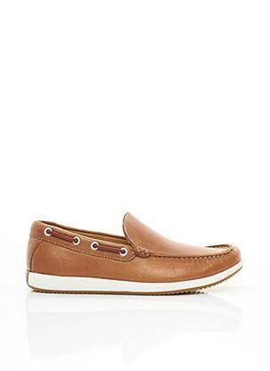 Chaussures bâteau marron CLARKS pour homme