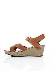 Sandales/Nu pieds marron PALLADIUM pour femme seconde vue