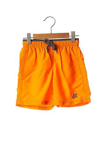Short de bain orange VILEBREQUIN pour garçon