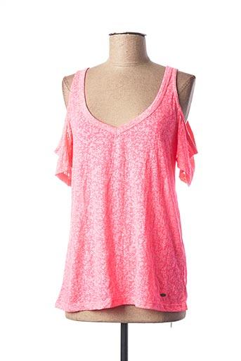 T-shirt manches courtes rose O'NEILL pour femme
