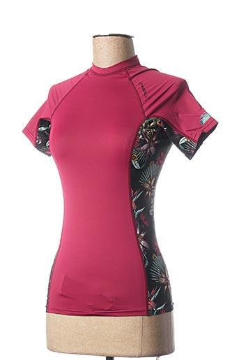 T-shirt manches courtes violet O'NEILL pour femme