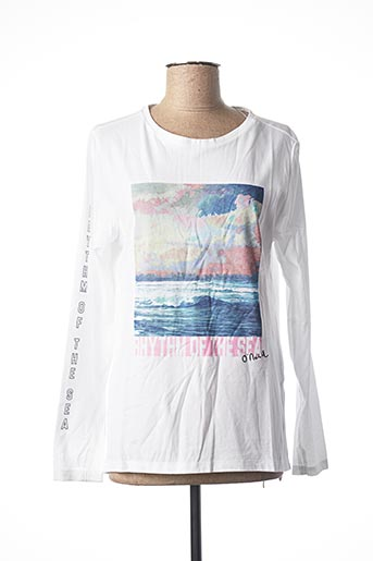 T-shirt manches longues blanc O'NEILL pour femme