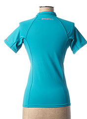 T-shirt manches courtes bleu O'NEILL pour femme seconde vue
