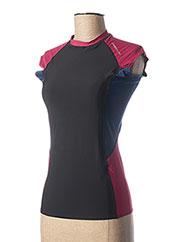 T-shirt manches courtes rouge O'NEILL pour femme seconde vue