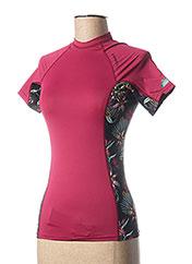 T-shirt manches courtes violet O'NEILL pour femme seconde vue
