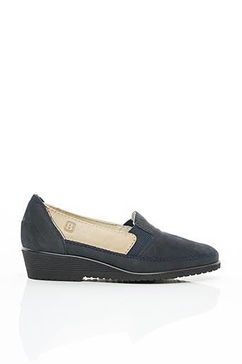 Chaussures de confort bleu BERTIN pour femme