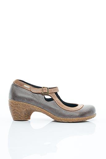 Chaussures de confort marron BRAN'S pour femme