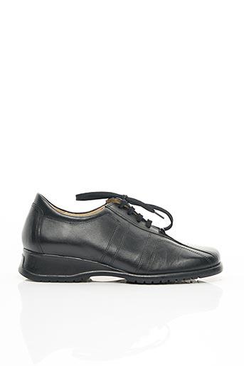 Chaussures de confort noir AKANE pour femme
