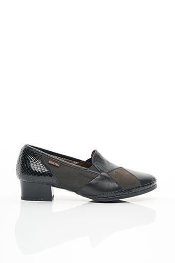Chaussures de confort noir BERTIN pour femme