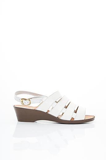 Sandales/Nu pieds blanc ASTRO pour femme