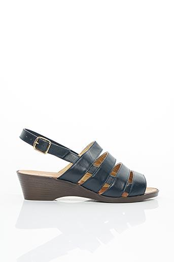 Sandales/Nu pieds bleu ASTO pour femme