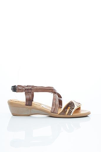 Sandales/Nu pieds marron BERTUCHI pour femme