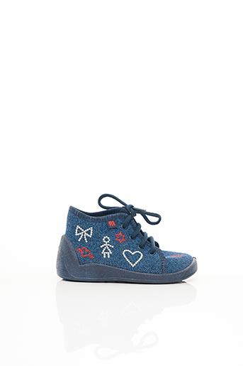 Baskets bleu ELEFANTEN pour fille