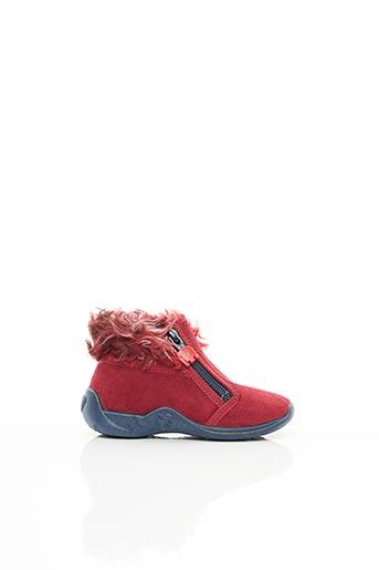 Bottines/Boots rouge ELEFANTEN pour fille