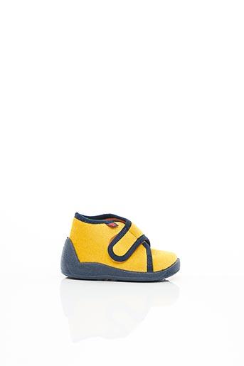 Chaussons/Pantoufles jaune ELEFANTEN pour enfant
