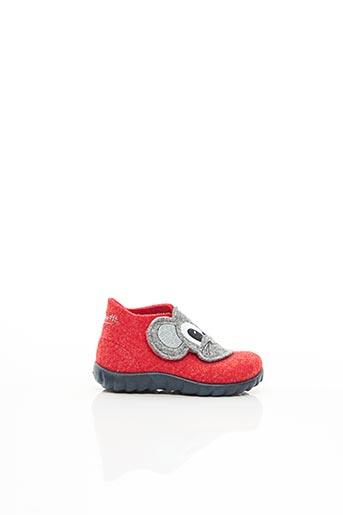 Chaussons/Pantoufles rouge SUPER FIT pour enfant
