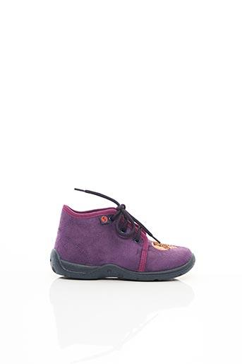 Chaussons/Pantoufles violet SUPER FIT pour fille