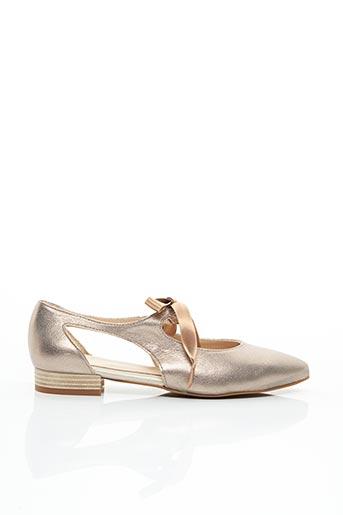Sandales/Nu pieds beige FOLIE'S pour femme