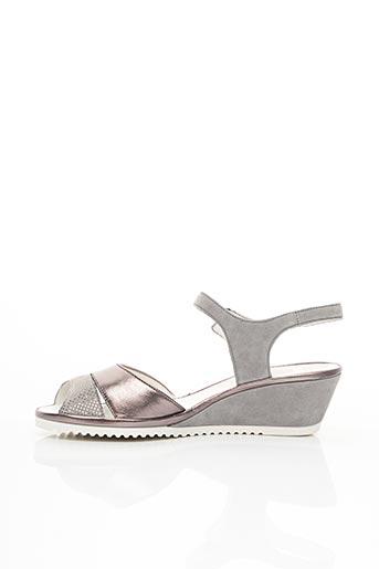 Sandales/Nu pieds gris ARA pour femme
