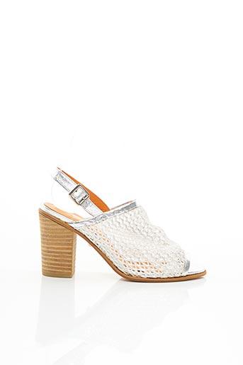 Sandales/Nu pieds gris BASTA COSI pour femme