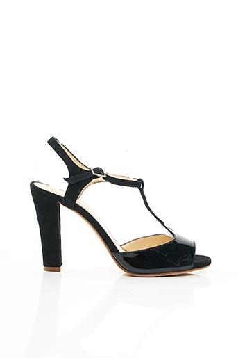 Sandales/Nu pieds noir BASTA COSI pour femme