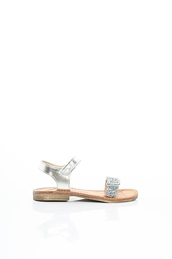 Sandales/Nu pieds gris RAMDAM pour fille