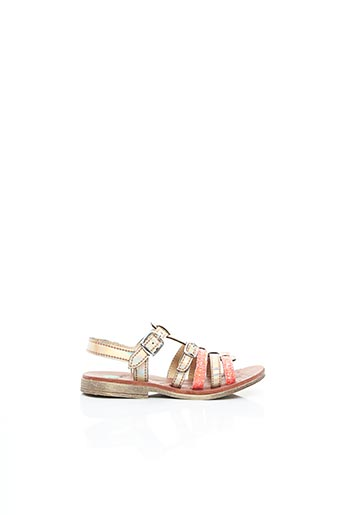 Sandales/Nu pieds rose GBB pour fille
