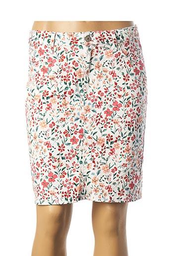 Jupe courte blanc KANOPE pour femme