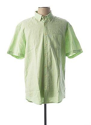 Chemise manches courtes vert CAMEL ACTIVE pour homme