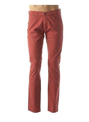 Pantalon casual orange WRANGLER pour homme