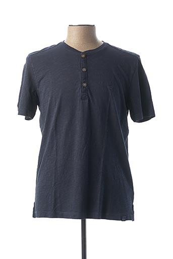T-shirt manches courtes bleu CAMEL ACTIVE pour homme