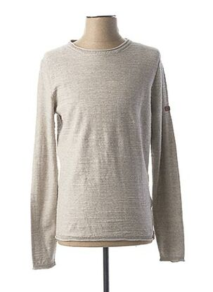 Pull col rond gris CAMEL ACTIVE pour homme