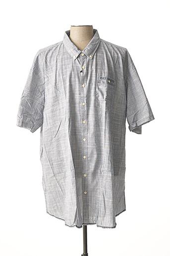 Chemise manches courtes gris CAMEL ACTIVE pour homme