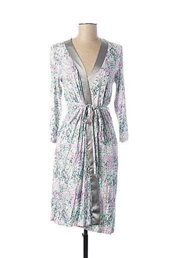 Robe de chambre blanc EGATEX pour femme