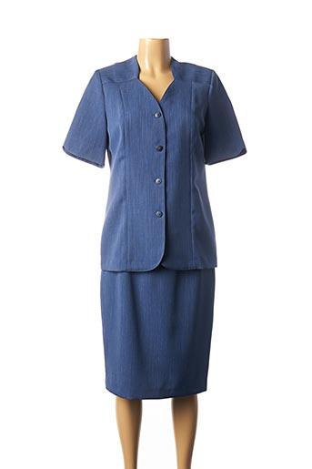 Top/jupe bleu GUY DUBOUIS pour femme