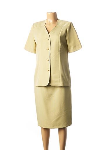 Top/jupe vert GUY DUBOUIS pour femme