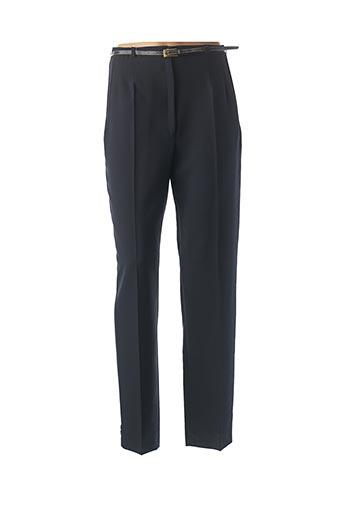Pantalon chic bleu ATLANTA pour femme