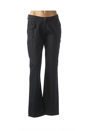 Pantalon casual noir CAMAGE pour femme