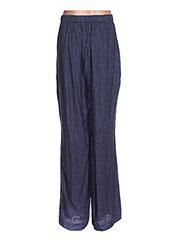 Pantalon casual bleu TWISTER pour femme seconde vue