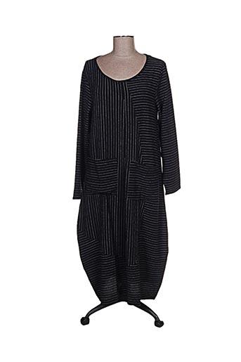 Robe longue noir G!OZE pour femme
