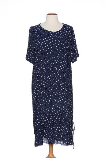 Robe longue bleu G!OZE pour femme