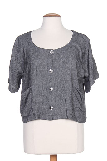 Veste casual gris G!OZE pour femme