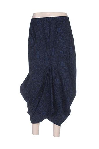 Jupe mi-longue bleu G!OZE pour femme